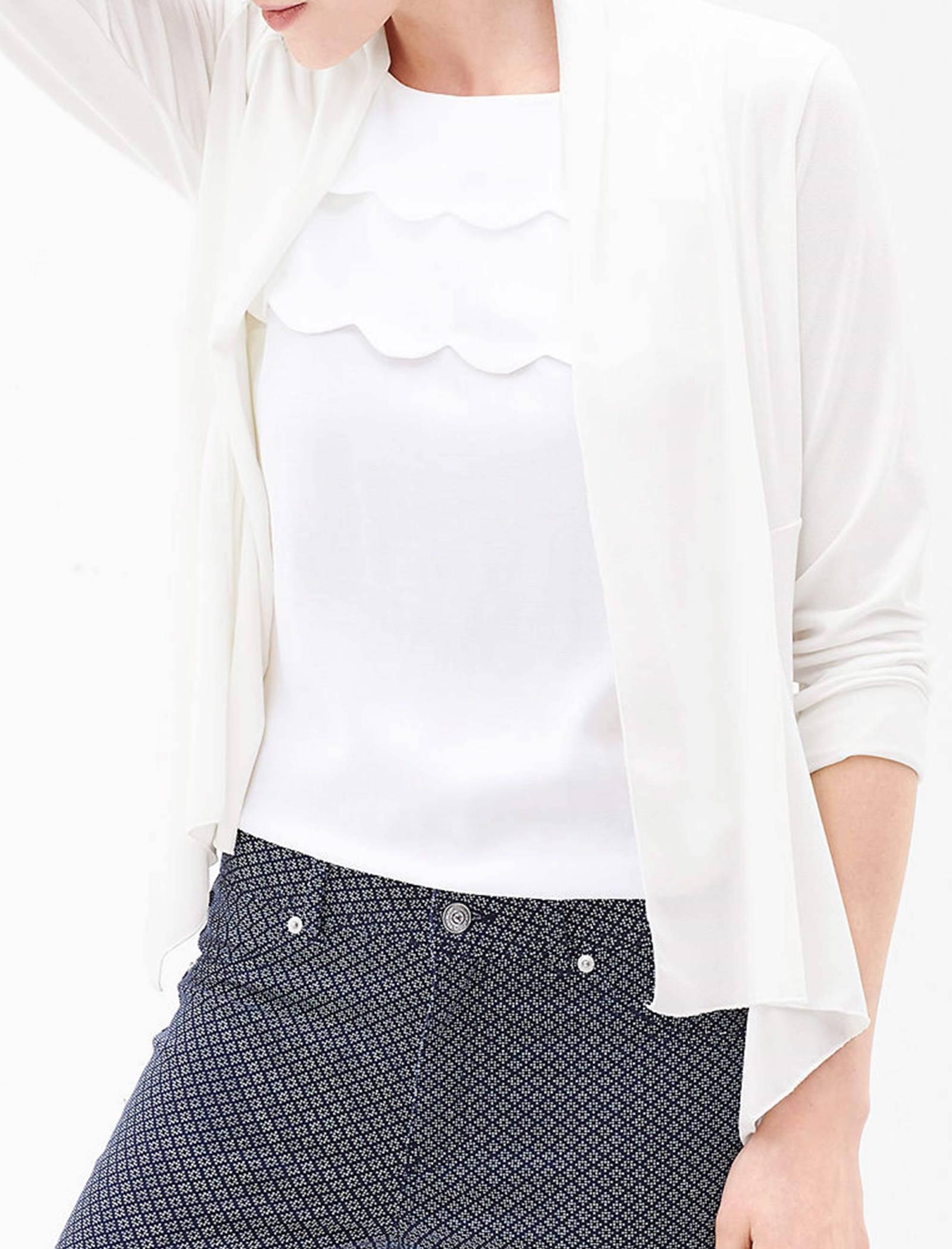 رویه لباس ساده زنانه - اس.اولیور - سفيد - 3