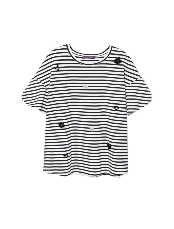 تی شرت یقه گرد زنانه - ویولتا بای مانگو
