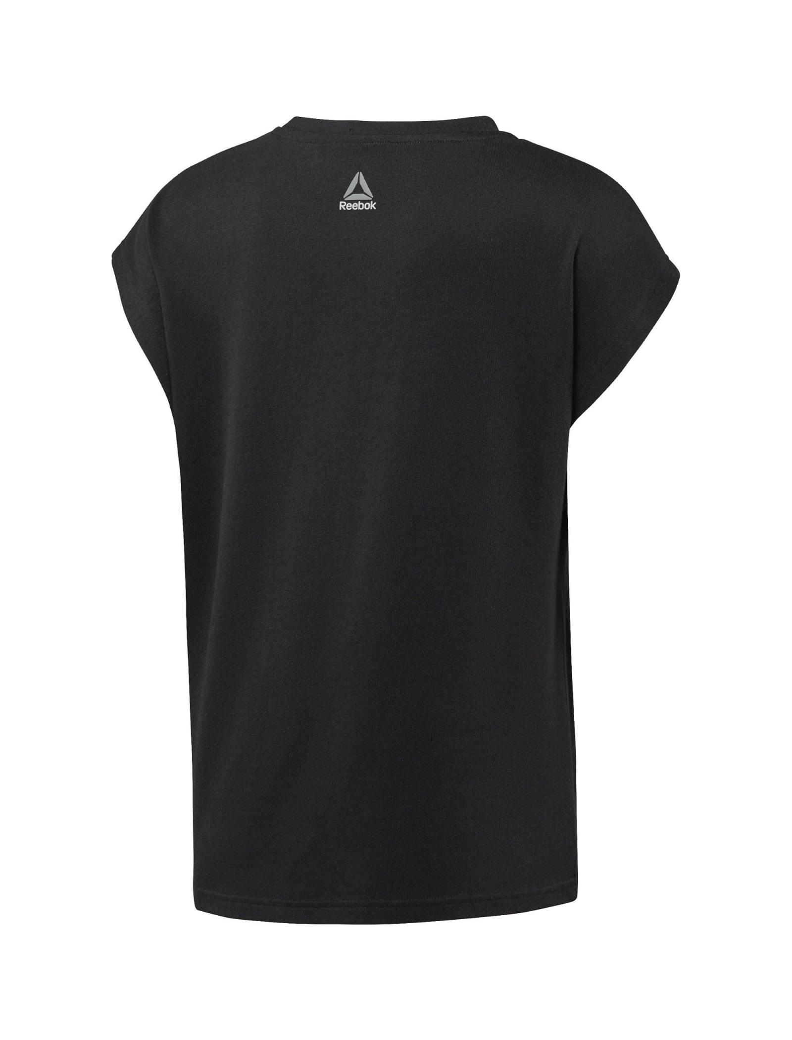 تی شرت ورزشی نخی یقه گرد زنانه Les Milles - ریباک - مشکي - 2