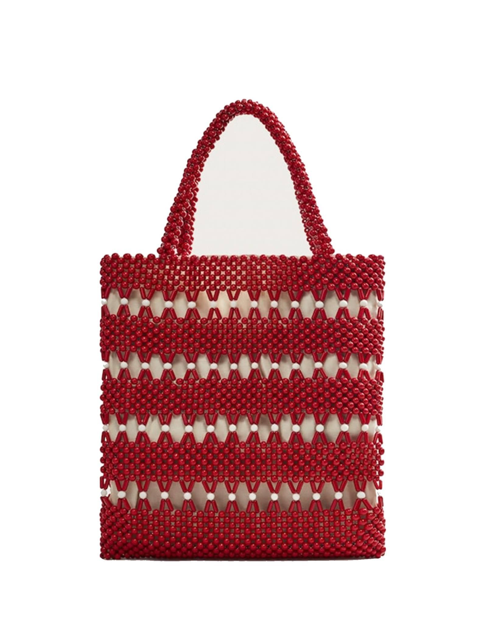 کیف دوشی زنانه - ویولتا بای مانگو تک سایز - قرمز - 2