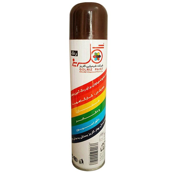 اسپری رنگ قهوه ای تیره گلریز کد A11 حجم 300 میلی لیتر