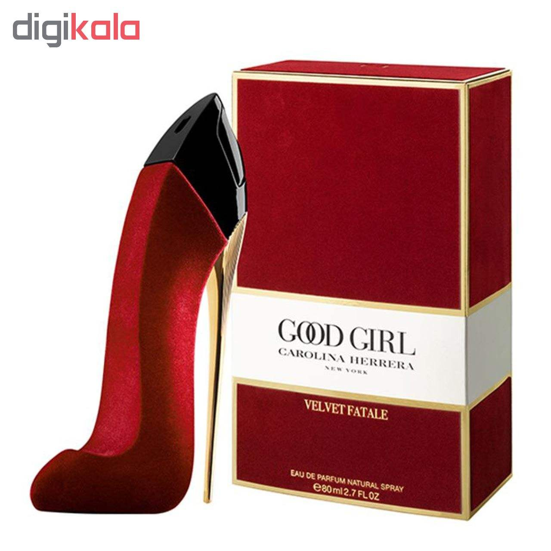 ادو پرفیوم زنانه کارولینا هررا مدل Good Girl Velvet Fatale حجم 80 میلی لیتر