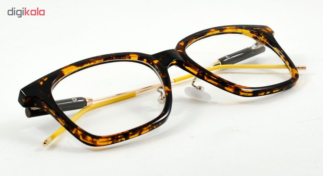 فریم عینک طبی مدل Tr90 Transparent Leopard