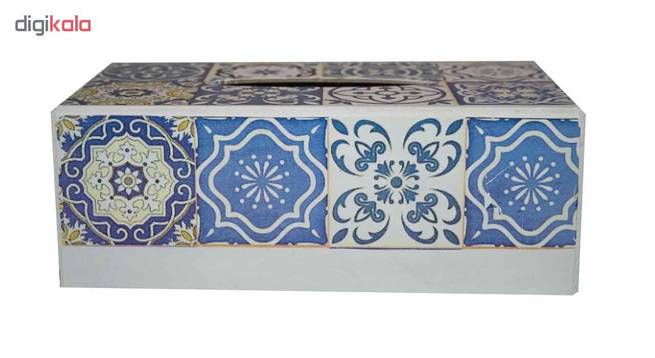 جعبه دستمال کاغذی مدل a-34