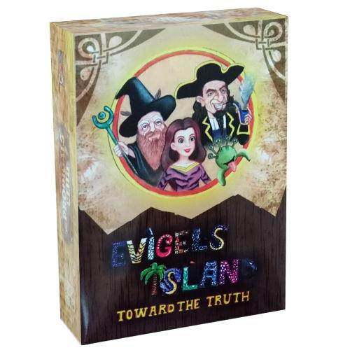 بازی فکری مدل Evigels island