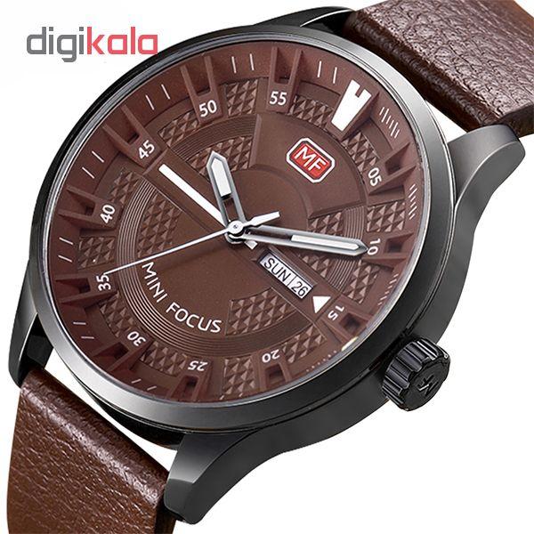 ساعت مردانه برند مینی فوکوس مدل mf0028g.04