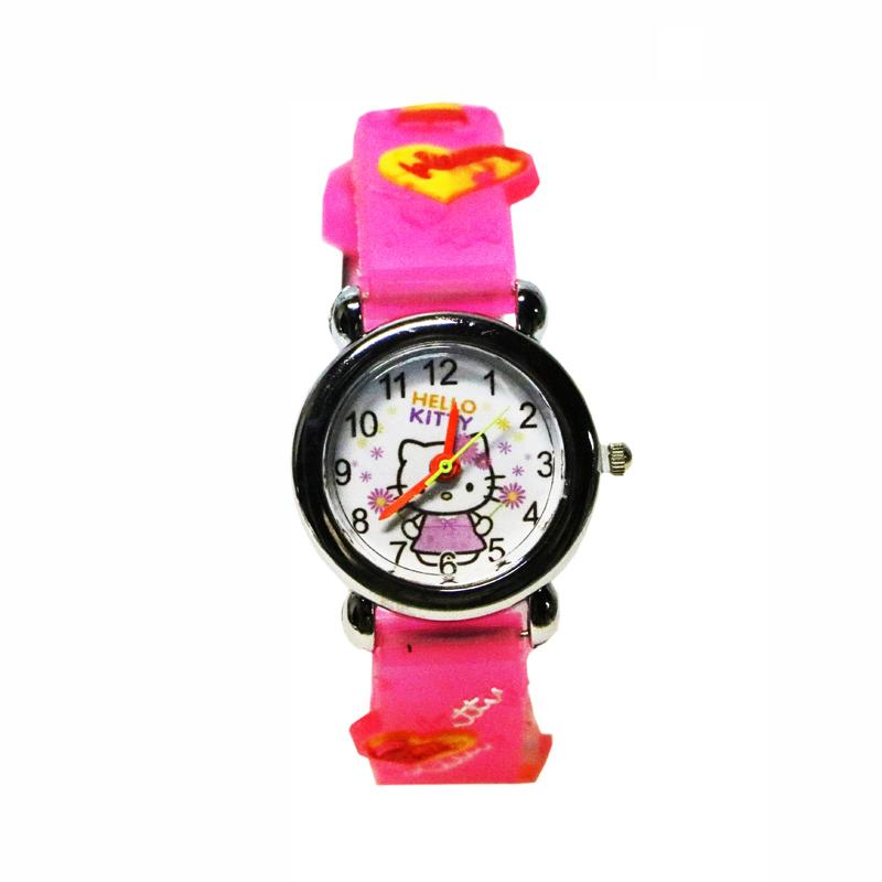 ساعت مچی عقربه ای بچگانه مدل Kitty-DP-7823