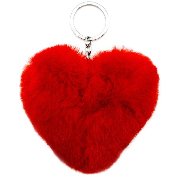 آویز بی جی دالز طرح قلب مدل Plush Heart