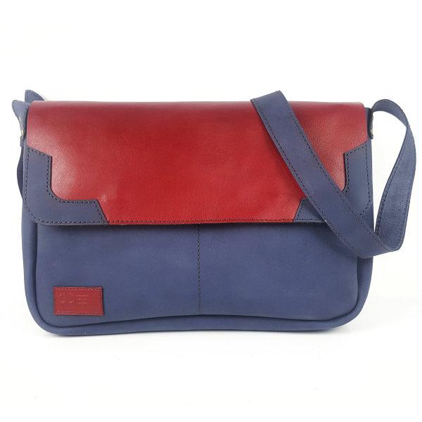 کیف رو دوشی چرم ایوا مدل آروین کد 2