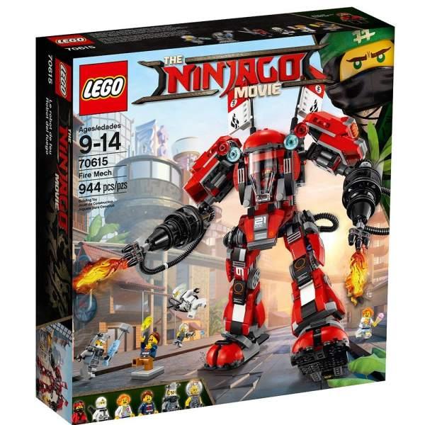 لگو سری Ninjago Movie مدل Movie Fire Mech 70615