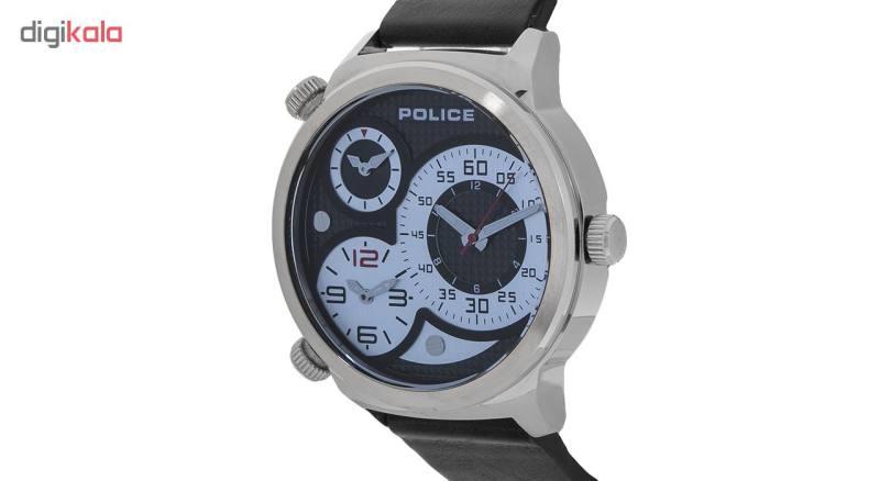 ساعت مچی عقربه ای مردانه پلیس مدل P14542JS-02