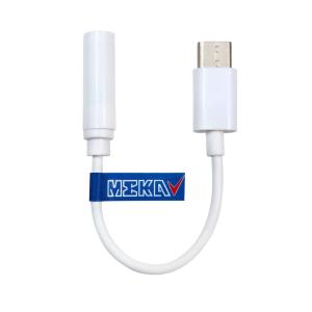 کابل تبدیل USB-C به جک 3.5 میلی متری مکا مدل MC22 طول 0.12 متر