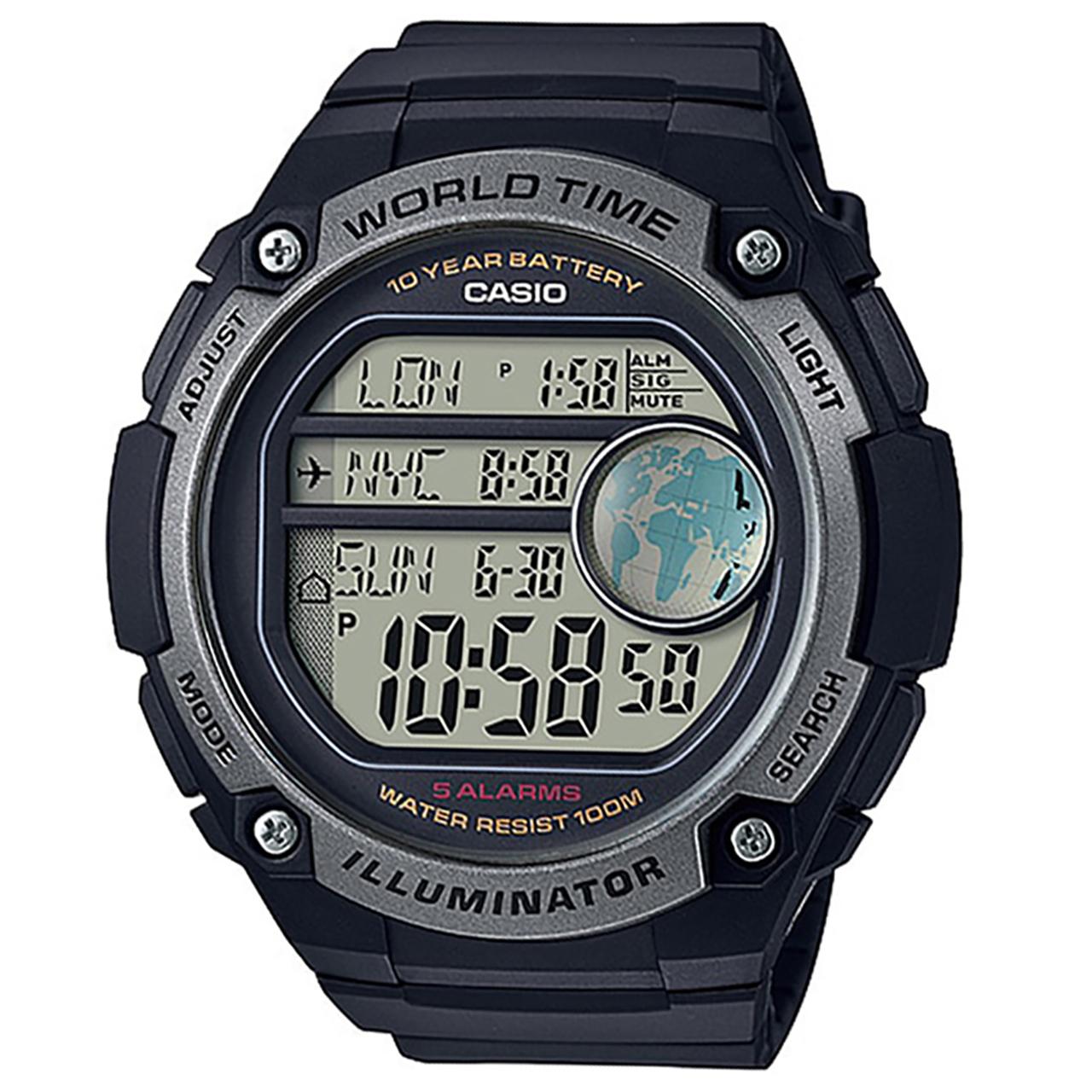 ساعت مچی دیجیتالی مردانه کاسیو مدل AE-3000W-1AVDF