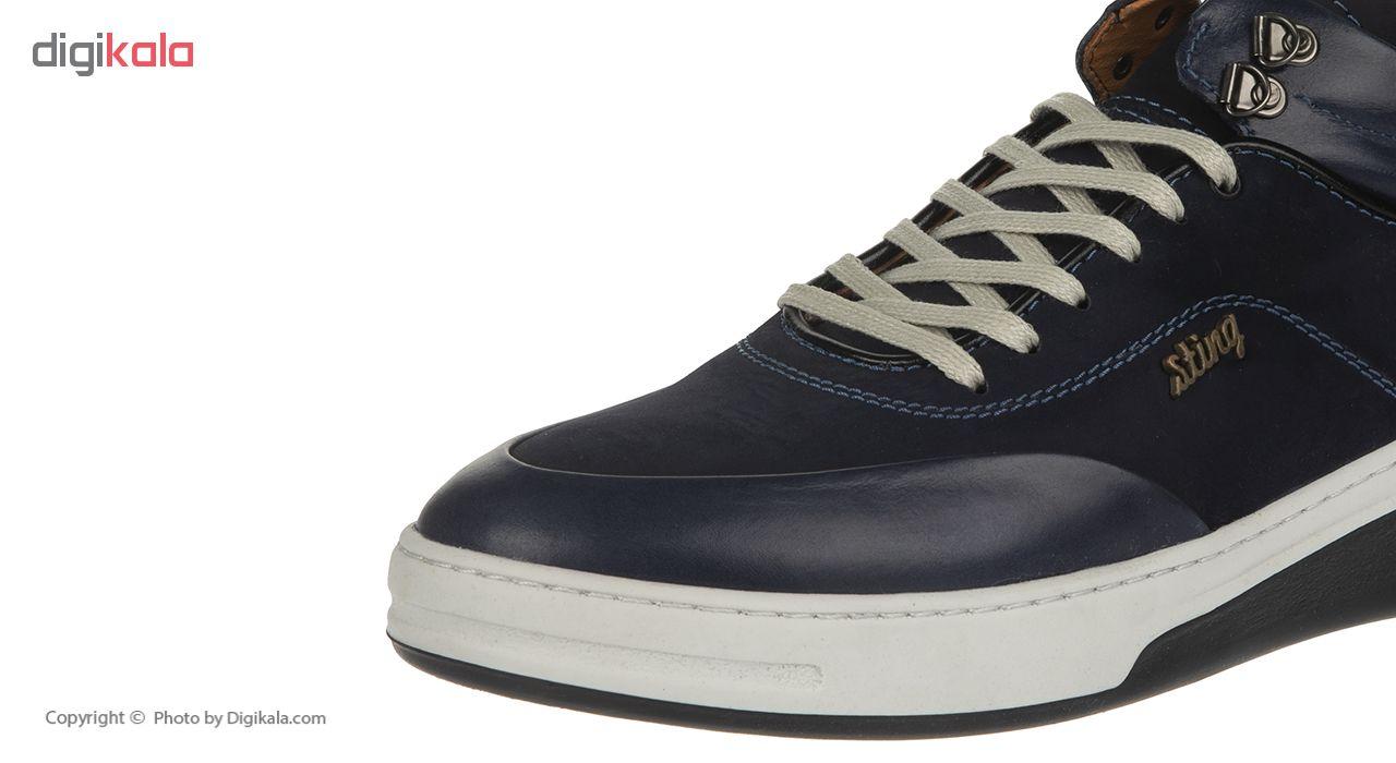 کفش مردانه استینگ مدل s2 سرمه ای