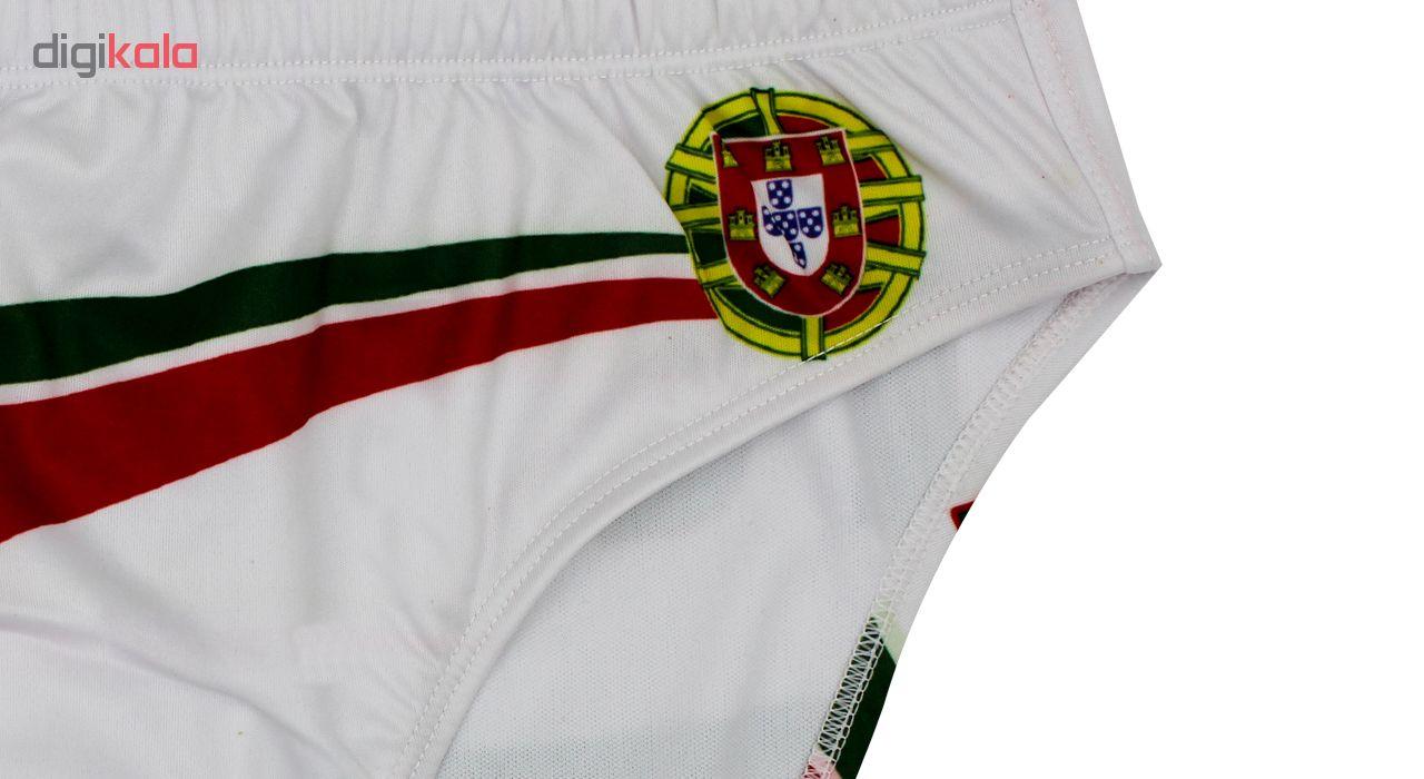 مایو شنا مردانه فینس طرح پرتغال