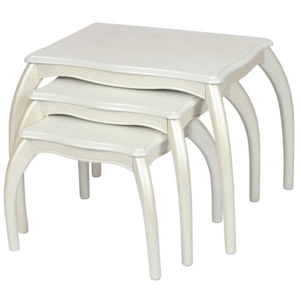 میز عسلی سهیل کد 0059newSE مجموعه سه عددی