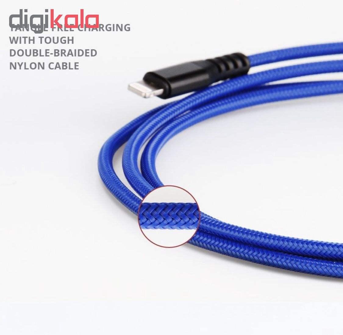کابل تبدیل USB به لایتنینگ آیماس مدل Atough طول 1.8 متر main 1 12