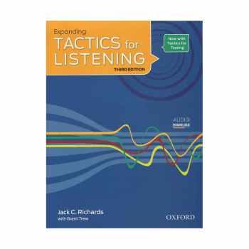 کتاب زبان Tactics for Listening 3rd Expanding انتشارات جنگل