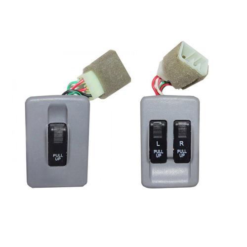 کلید شیشه بالابر کاوج مدل RADFAR 5964 مناسب برای پراید صبا بسته دو عددی