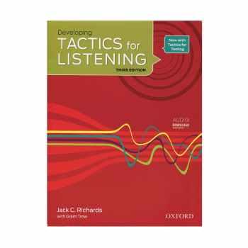 خرید                      کتاب زبان Tactics for Listening 3rd Developing انتشارات جنگل