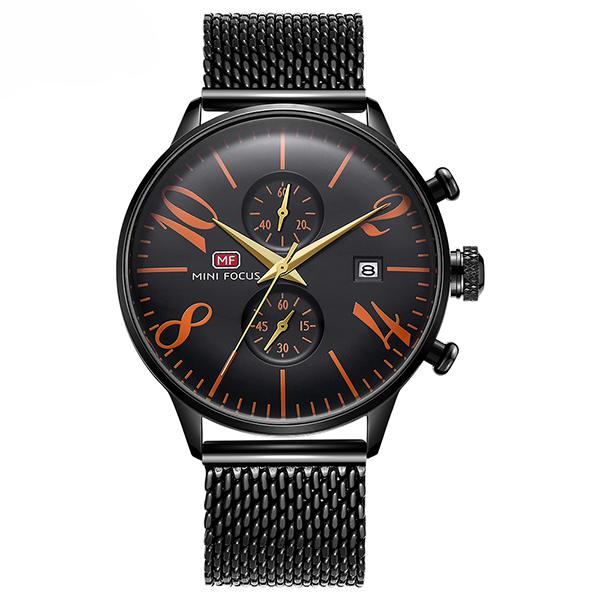 ساعت مچی عقربه ای مردانه مینی فوکوس مدل mf0135g.08