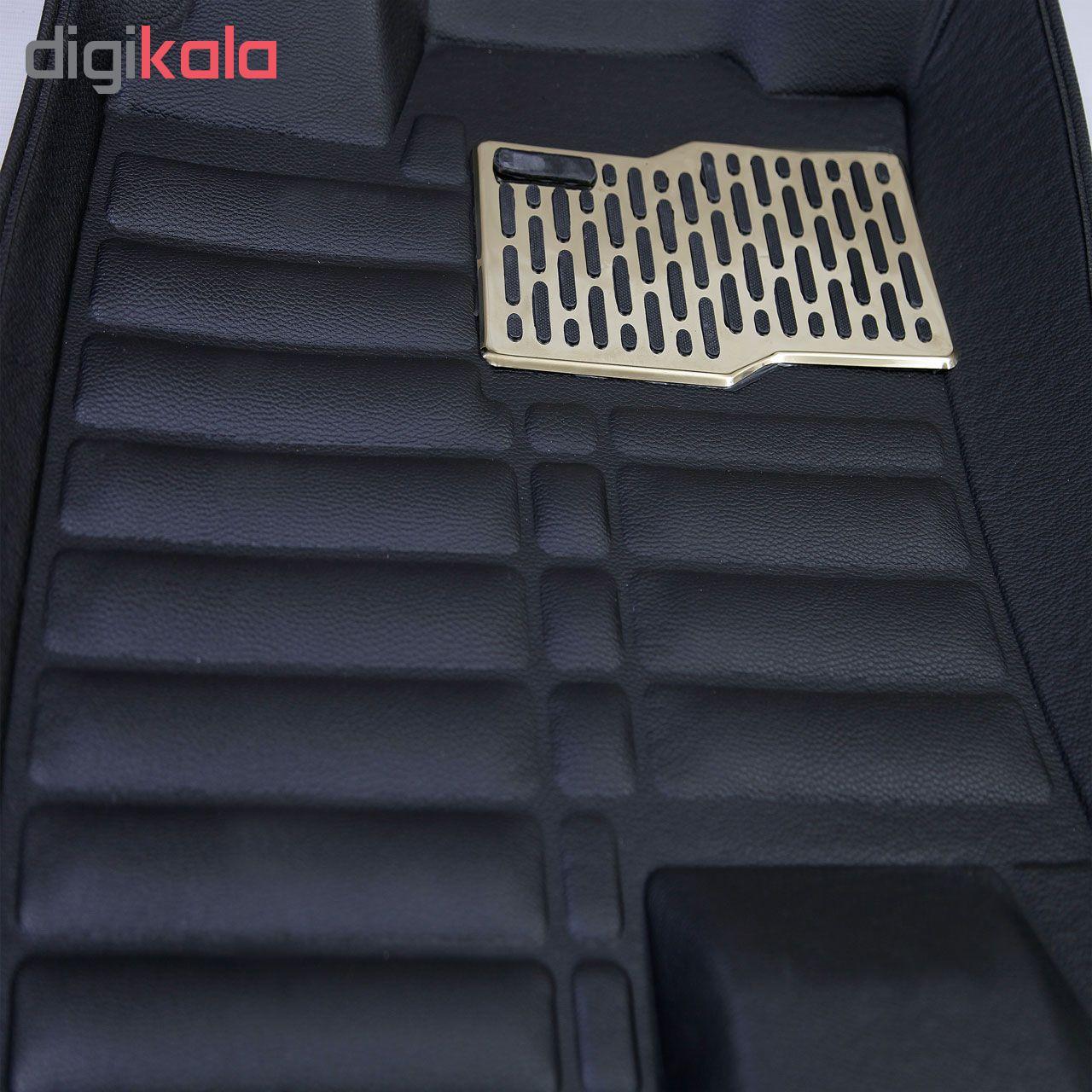 کفپوش پنج بعدی خودرو کد15 مناسب برای هایما S5