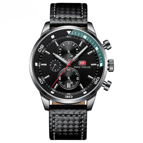ساعت مچی عقربه ای مردانه مینی فوکوس مدل mf0017g.04