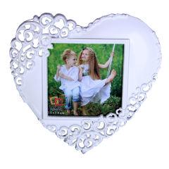 قاب عکس طرح قلب کد 1015 سایز  10×10 سانتی متر