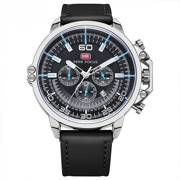 ساعت مچی عقربه ای مردانه مینی فوکوس مدل mf0095g.03