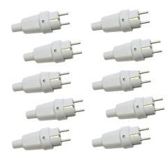 دوشاخه برق پارت الکتریک مدل 972 بسته 10 عددی