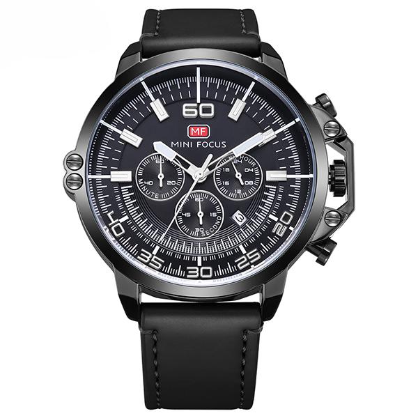 ساعت مچی عقربه ای مردانه مینی فوکوس مدل mf0095g.01