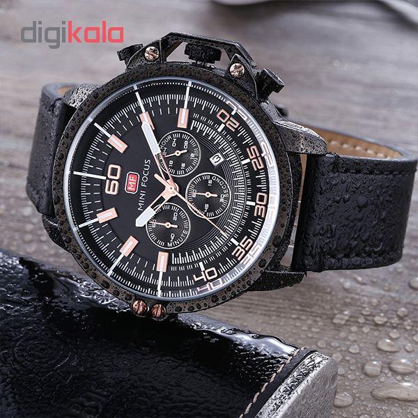 ساعت مردانه برند مینی فوکوس مدل mf0095g02