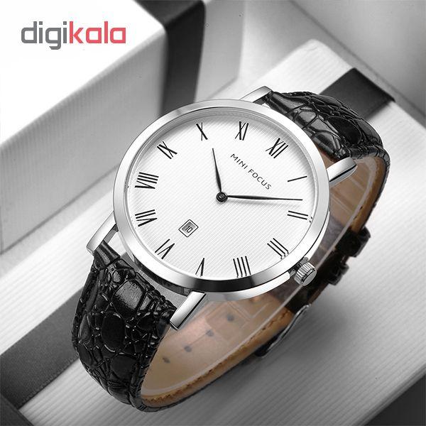 کد تخفیف                                      ساعت مچی عقربه ای مردانه مینی فوکوس مدل mf0108g.03