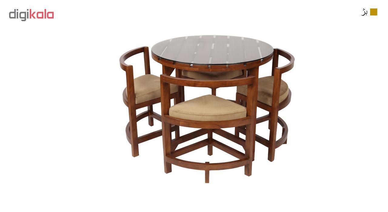 میز ناهارخوری سهیل مدل Circle