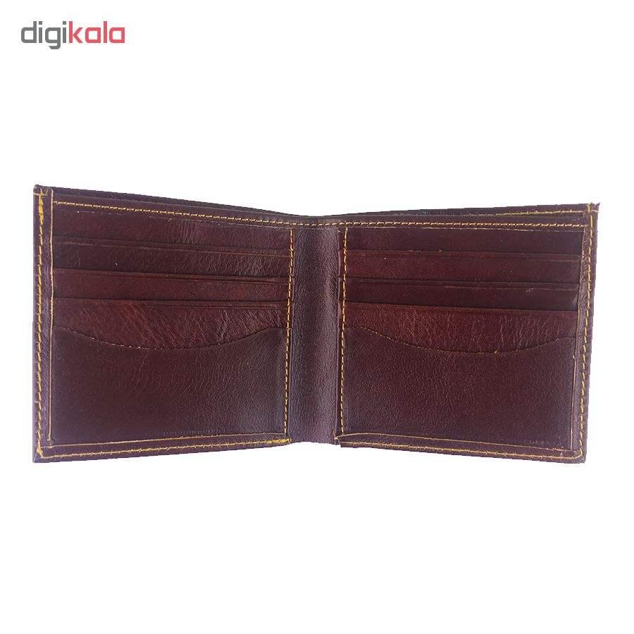 کیف پول چرم چرماهنگ مردانه کد W-S1M thumb 6