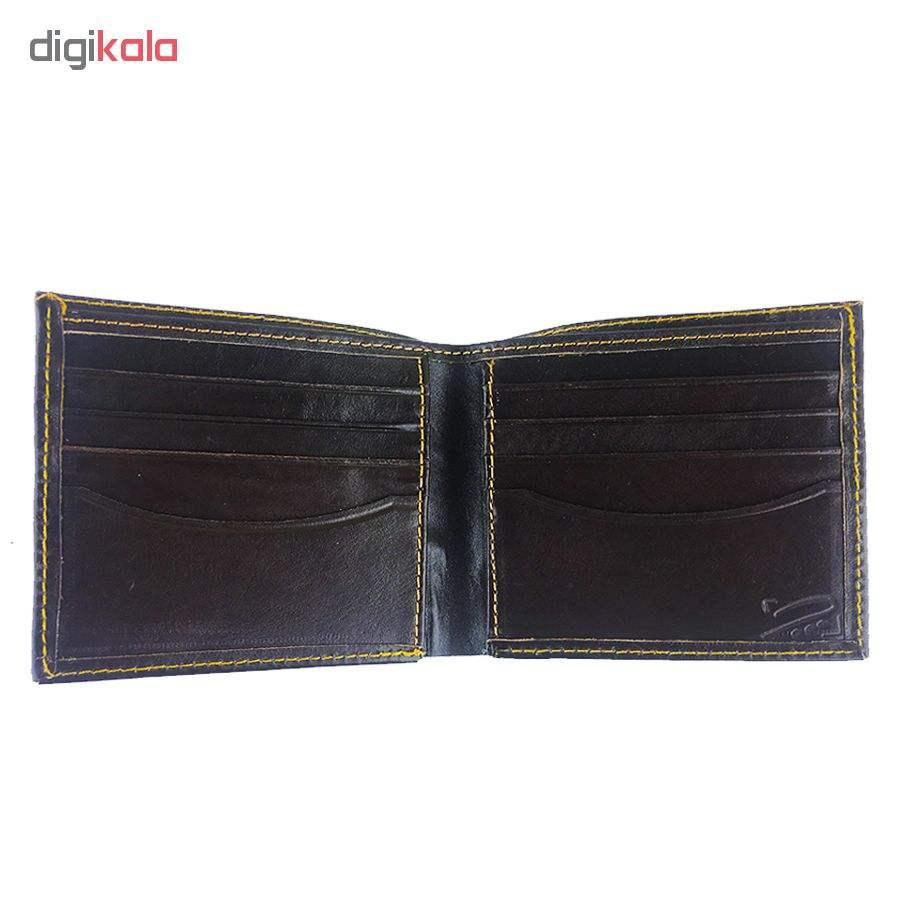 کیف پول چرم چرماهنگ مردانه کد W-S1M main 1 9