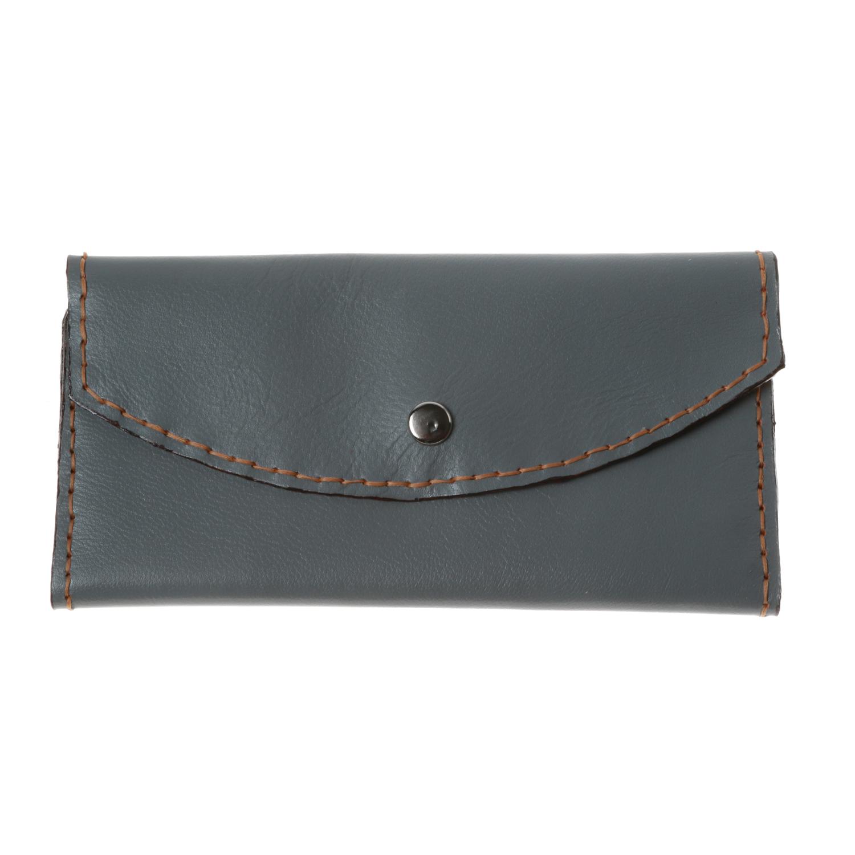 کیف پول زنانه چرم طبیعی بز دست دوز کد 1183