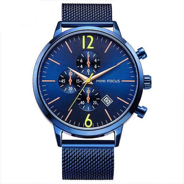 ساعت مچی عقربه ای مردانه مینی فوکوس مدل mf0185g.04