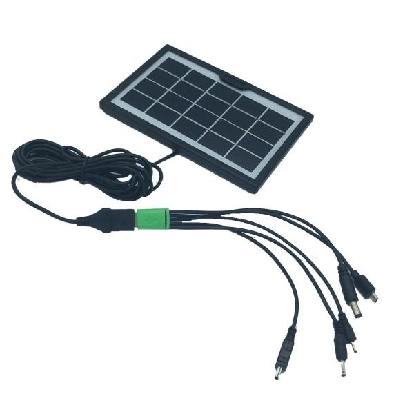 پنل خورشیدی سی سی لامپ مدل cl-638wp