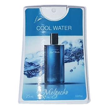 عطر جیبی مردانه ملگاچو مدل Cool Water حجم 25 میلی لیتر