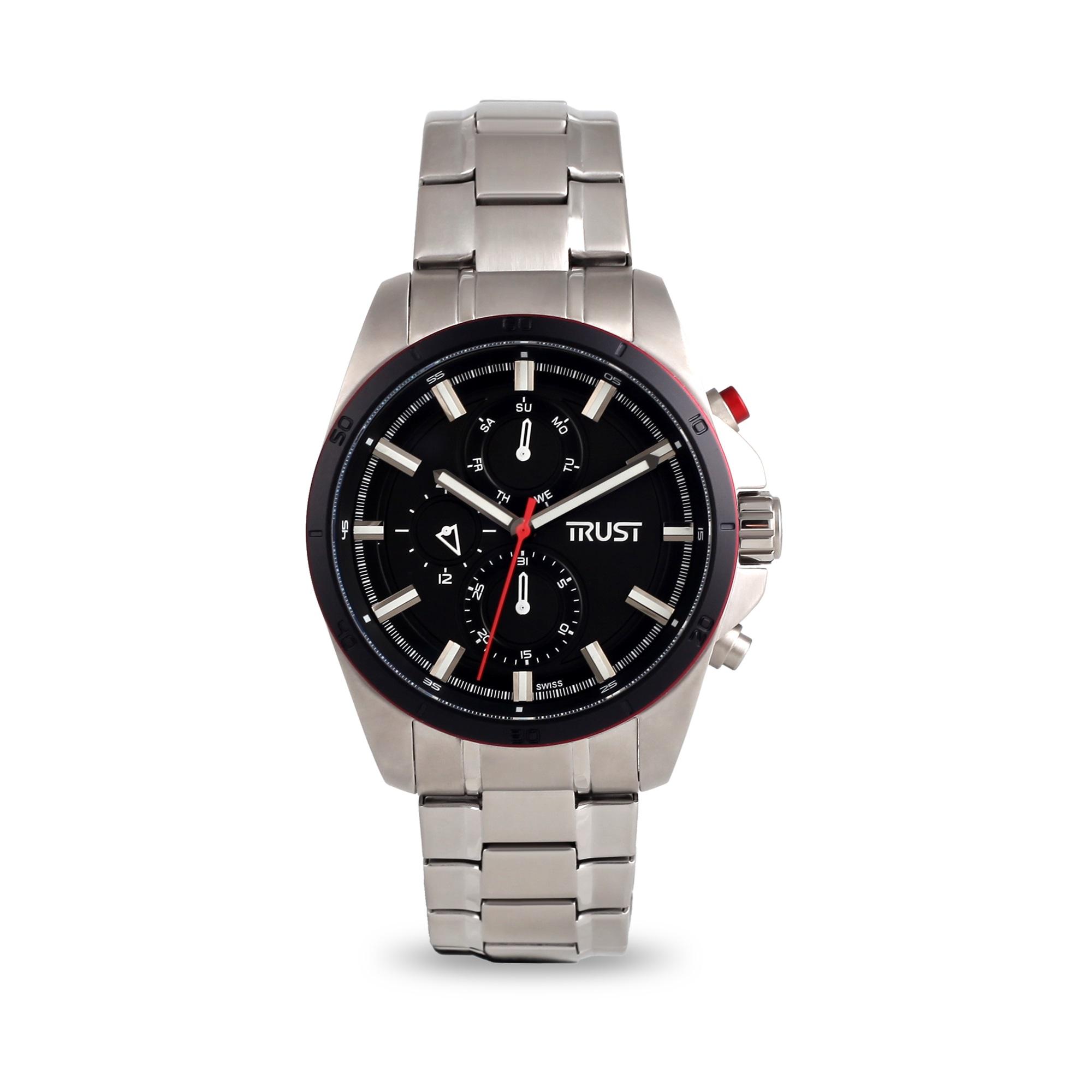 ساعت مچی عقربه ای مردانه تراست مدل G495HRD 31