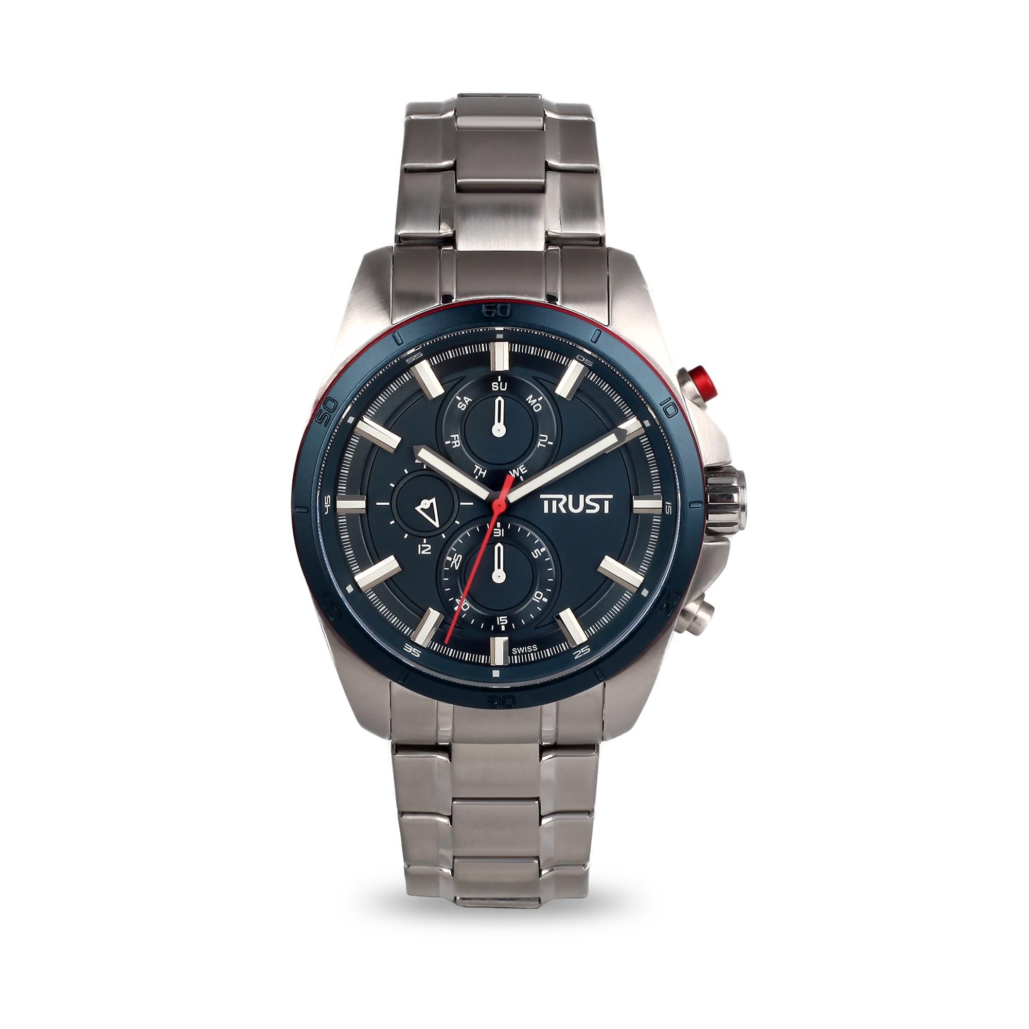 ساعت مچی عقربه ای مردانه تراست مدل G495HRG 28