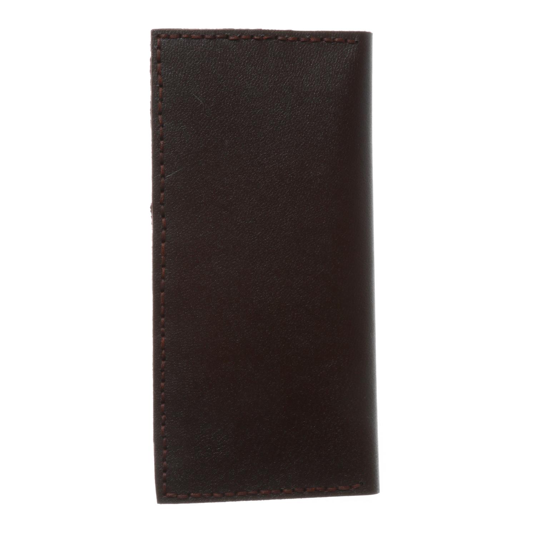 کیف پول چرم طبیعی بز دست دوز  کد 1201