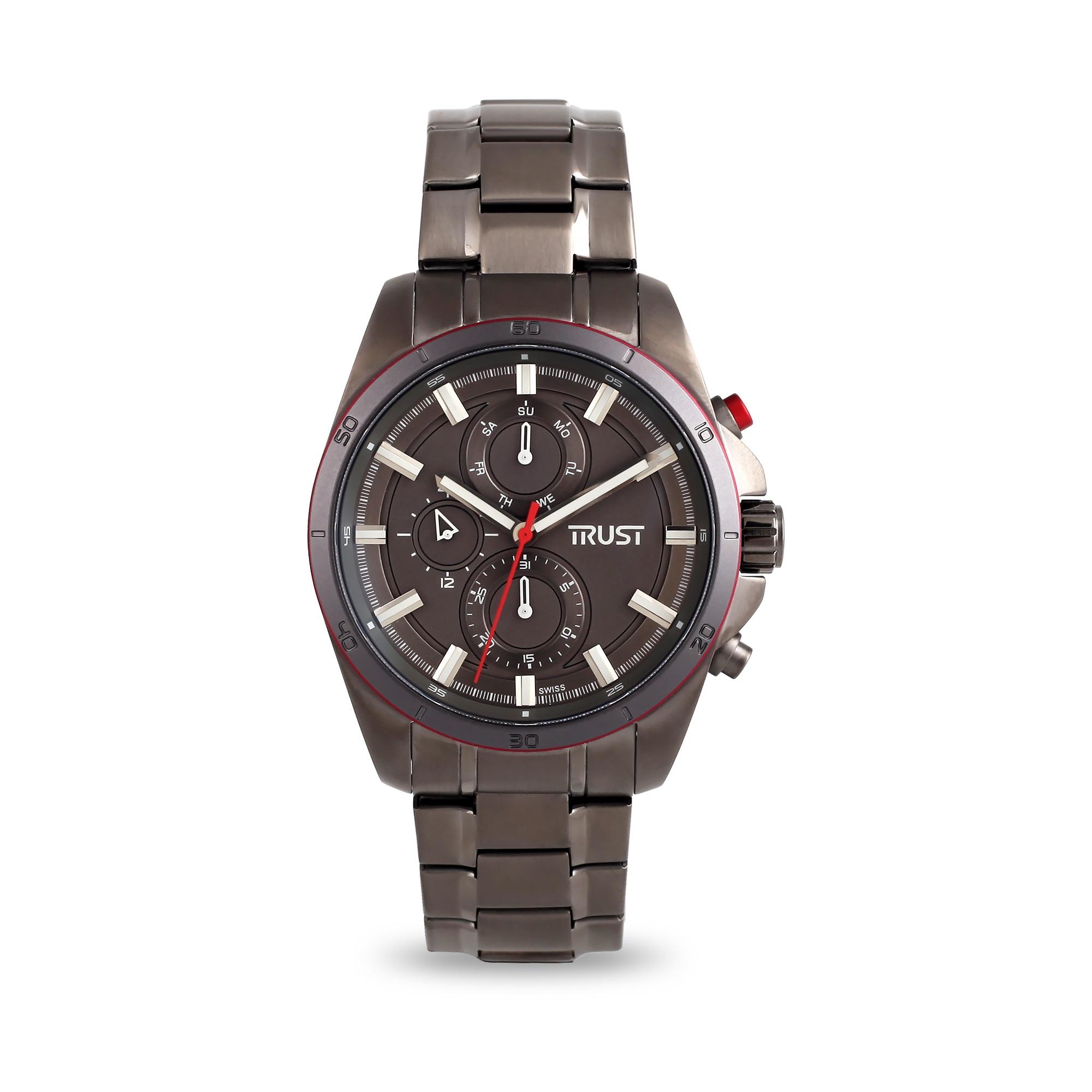 ساعت مچی عقربه ای مردانه تراست مدل  G495FTF 4