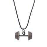 قیمت گردنبد زعیم جواهر طرح دمبل کد ZM110