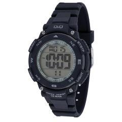 ساعت مچی دیجیتالی کیو اند کیو مدل m149j007y به همراه دستمال مخصوص برند کلین واچ