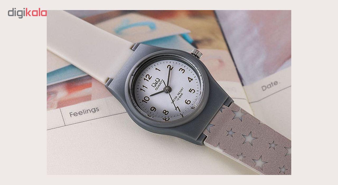 کد تخفیف                                      ساعت مچی عقربه ای بچگانه کیو اند کیو مدل VP47J036Y به همراه دستمال مخصوص برند کلین واچ
