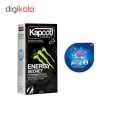 کاندوم کاپوت مدل ENERGY SECRET بسته 12 عددی  به همراه کاندوم ناچ کدکس مدل بلیسر thumb 1