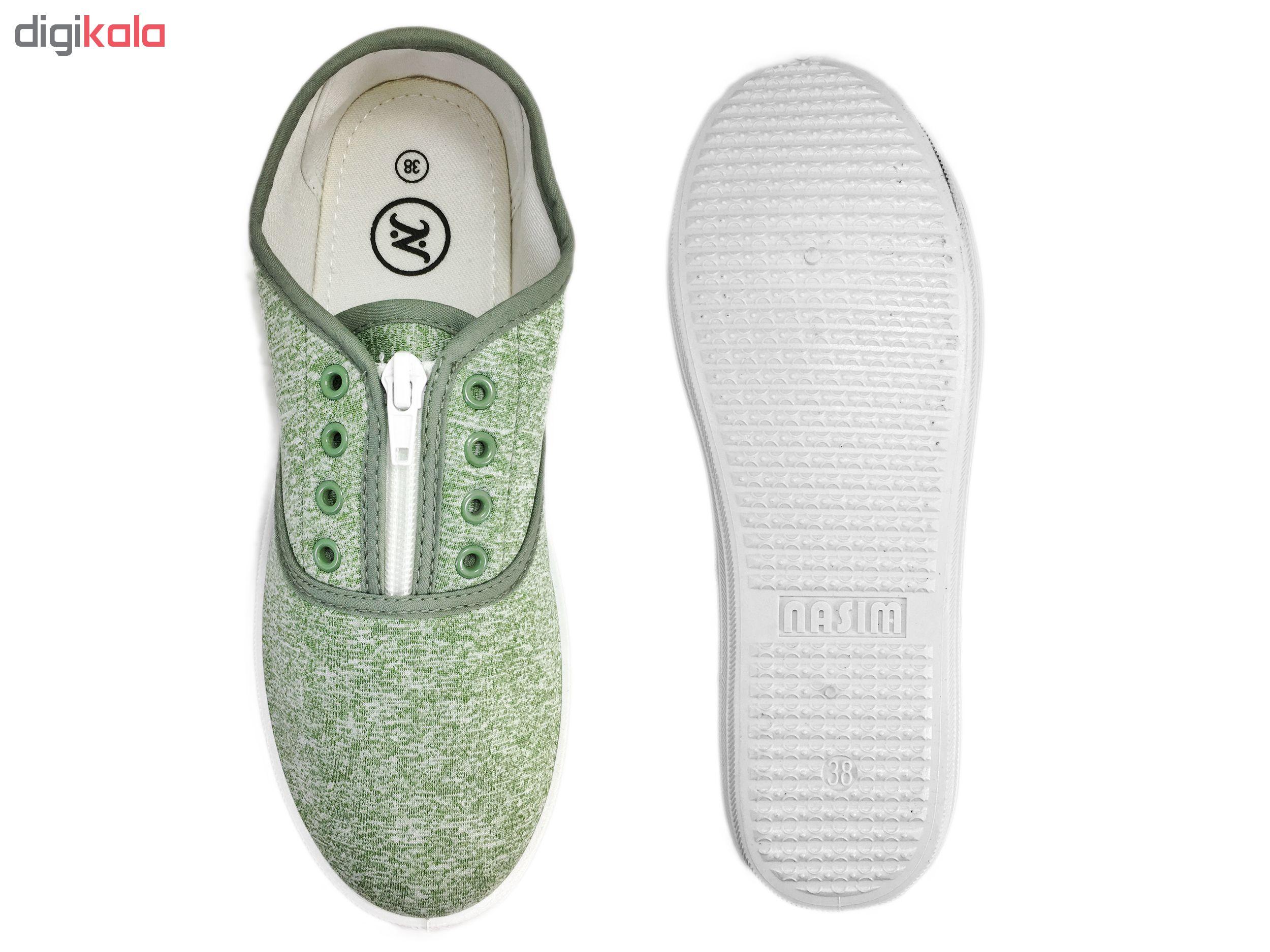 کفش مخصوص پیاده روی زنانه نسیم مدل آزاده کد 3672