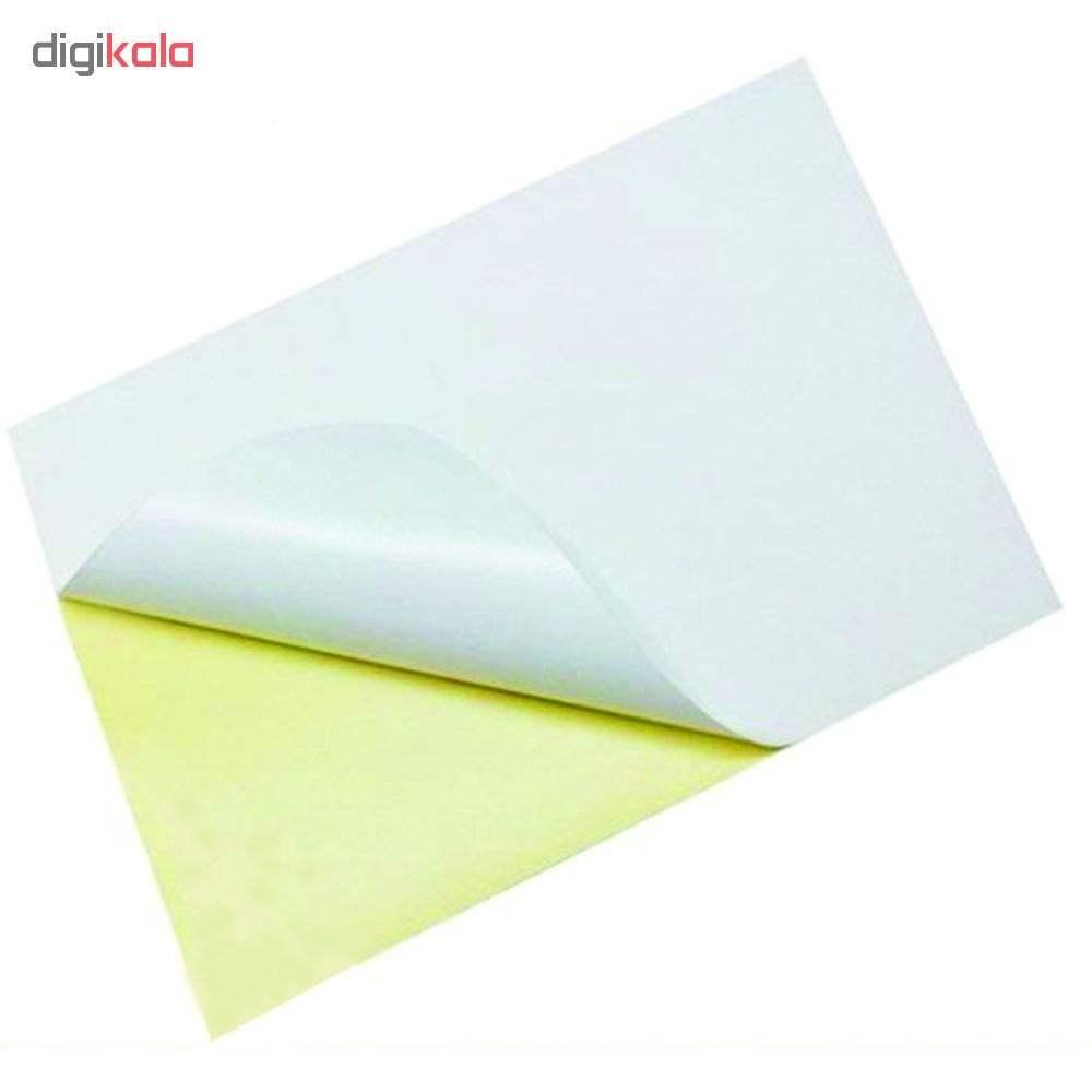 کاغذ پشت چسبدار مات کد 200 سایز A4  بسته 20 عددی thumb 1